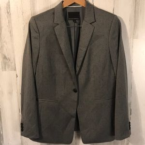 Polka dot BR size 12 Blazer Suit Top Jacket